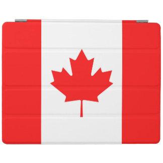 カナダのアメリカハナノキの葉のIPadカバーのカナダの旗 iPadスマートカバー