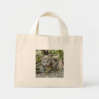 カナダのオオヤマネコのバッグ ミニトートバッグ