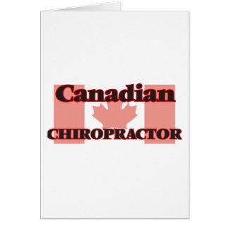 カナダのカイロプラクター カード