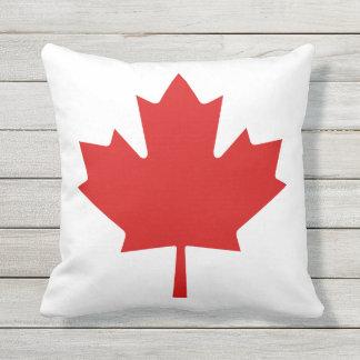 カナダのカエデの葉のテラスのクッション クッション
