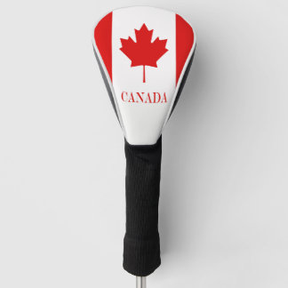 カナダのカエデの葉の旗 ゴルフヘッドカバー