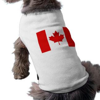 カナダのカエデの葉の旗 ペット服