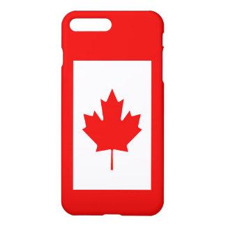 カナダのカエデの葉の旗 iPhone 8 PLUS/7 PLUSケース