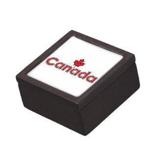 カナダのカエデの葉 ギフトボックス