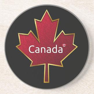 カナダのカエデの葉 コースター