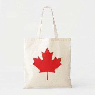 カナダのカエデの葉 トートバッグ