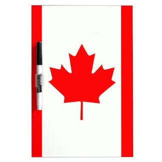 カナダのカエデの葉 ホワイトボード