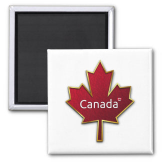 カナダのカエデの葉 マグネット