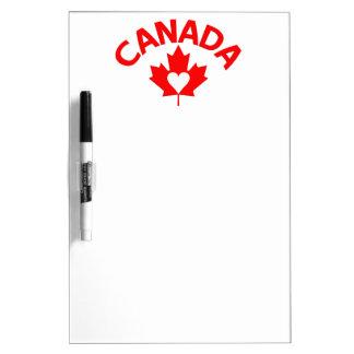 カナダのカスタムな伝言板 ホワイトボード
