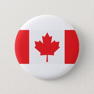 カナダのカナダの旗のカエデの葉 5.7CM 丸型バッジ