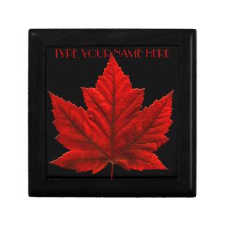 カナダのギフト用の箱のカスタムなカナダの記念品の宝石箱 ギフトボックス