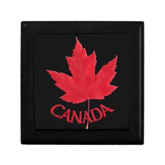 カナダのギフト用の箱のカナダのカエデの葉の宝石箱 ギフトボックス