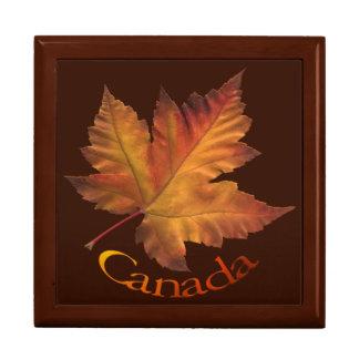 カナダのギフト用の箱のカナダの記念品のカナダの宝石箱 ギフトボックス