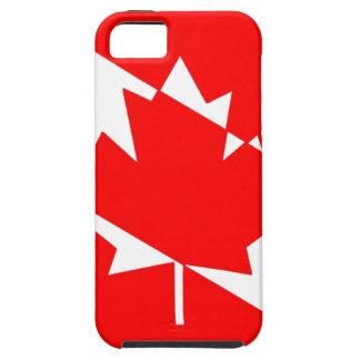 カナダのスキューバダイバーの旗 iPhone SE/5/5s ケース