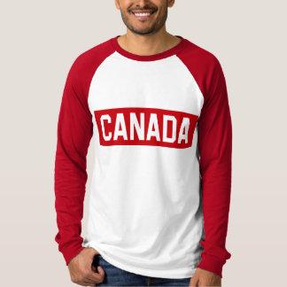 カナダのステンシル Tシャツ