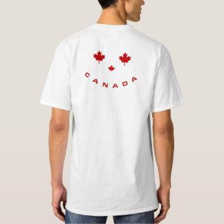 カナダのスマイルのTシャツ Tシャツ