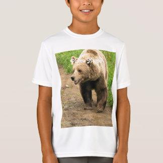 カナダのハイイログマ Tシャツ