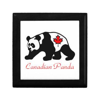 カナダのパンダ ギフトボックス