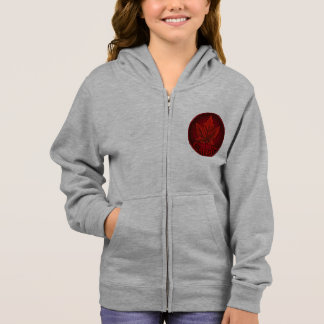 カナダのフード付きスウェットシャツのカナダの女の子のカエデの葉のワイシャツのフード付きスウェットシャ パーカ