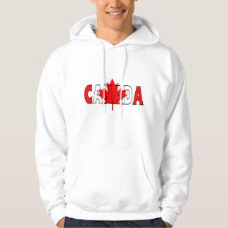カナダのフード付きスウェットシャツ パーカ