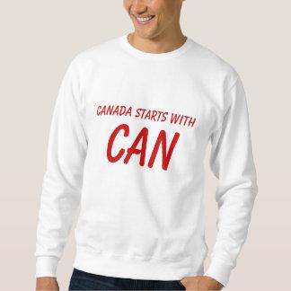 カナダのプライドのスエットシャツ スウェットシャツ