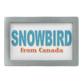 カナダのベルトの留め金からのSnowbird 長方形ベルトバックル