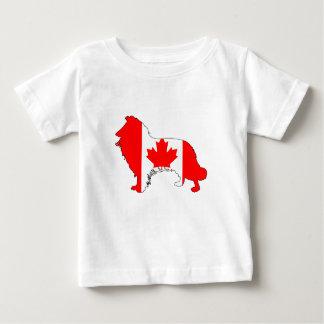 カナダのボーダーコリー ベビーTシャツ