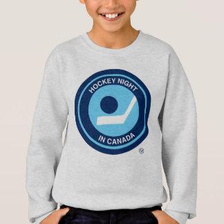 カナダのレトロのロゴのホッケー夜 スウェットシャツ