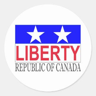 カナダの共和国 ラウンドシール