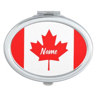 カナダの名前入りな名前のカナダの旗