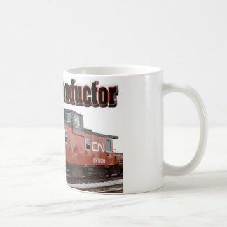 カナダの国民の鉄道退職したなコンダクター コーヒーマグカップ