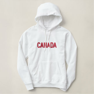 カナダの愛国心が強いカナダの北アメリカ国 刺繍入りパーカ