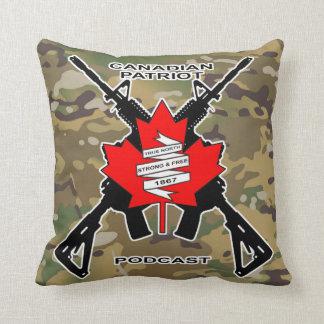 カナダの愛国者のポッドキャストの装飾用クッション クッション