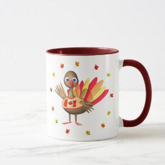 カナダの感謝祭のベビートルコ マグカップ
