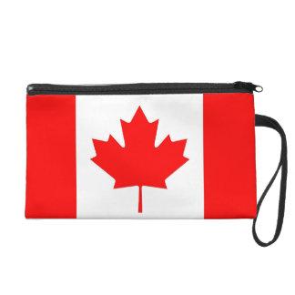 カナダの旗が付いているBagettesのバッグ リストレット