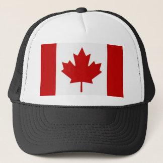 カナダの旗のトラック運転手の網の帽子 キャップ