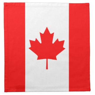 カナダの旗のナプキン ナプキンクロス