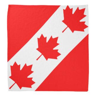 カナダの旗のバンダナ|カナダ日のカエデの葉 バンダナ