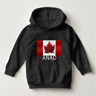 カナダの旗のベビーのフード付きスウェットシャツのワイシャツのカナダの記念品 パーカ
