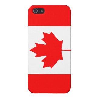 カナダの旗の精通したiPhone 5の無光沢の終わり iPhone 5 Case