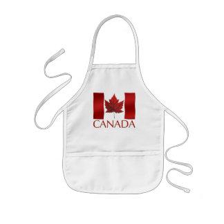 カナダの旗の記念品はエプロンカナダの記念品をからかいます 子供用エプロン
