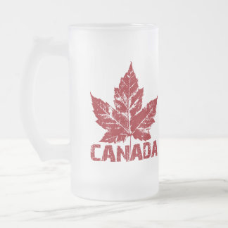 カナダの旗の記念品ビールガラスのカナダのマグ フロストグラスビールジョッキ