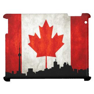 カナダの旗のiPadの場合 iPadケース