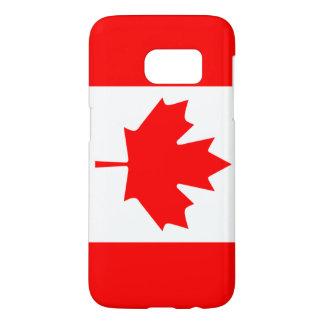 カナダの旗のSamsungの銀河系S7の箱 Samsung Galaxy S7 ケース
