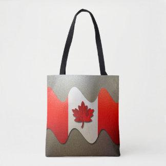 カナダの旗クロム トートバッグ