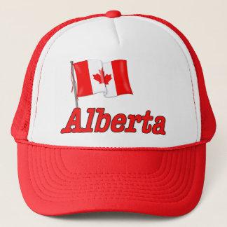 カナダの旗-アルバータ キャップ