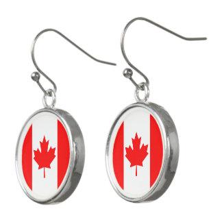 カナダの旗 イヤリング