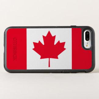 カナダの旗 オッターボックスシンメトリーiPhone 8 PLUS/7 PLUSケース