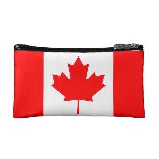 カナダの旗 コスメティックバッグ