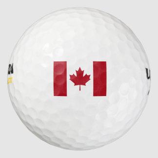 カナダの旗 ゴルフボール